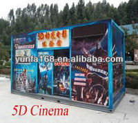 5d Cinema Simulator Amusement Park Equipment, Home Theater , Computer Control System
