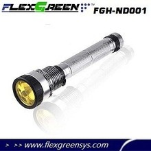 rechargeable 18650 75W HID 5000 lumen flashlight