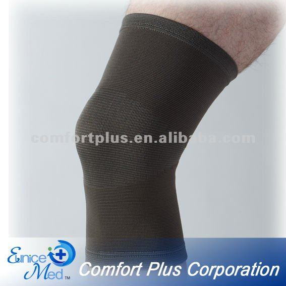Knitted sleeve Bamboo charcoal knee support