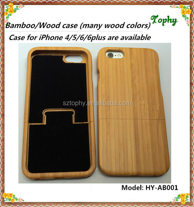 Factory wholesales competitive price Real Rose Wood Mobile Phone Cover Case For iPhone 5S , for i Phone 6 case wood