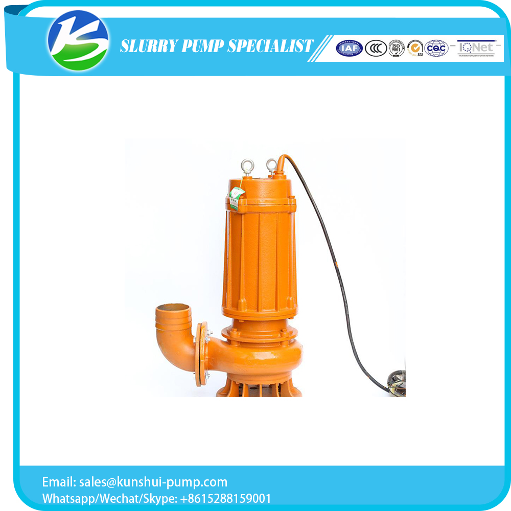 Customized marine no blocking sewage pump of China