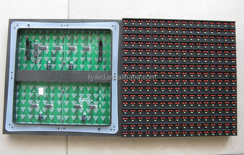 LIYI dual color led pharmacy cross display module front maintenance