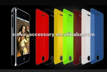 colourful privacy screen protector for iphones