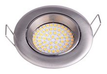 Hot sale in European Zinc alloy die cast housing led down light conversion fixture fitting waterproof for Gu10, G53