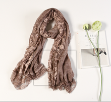 Cotton Linen Lace Muslim Scarf Hijab Trims Head Scarves Wholesale Shawls Women Scarf Shawl