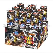 SP2015 Thrill Ride 500gram display cake fireworks with amazing show