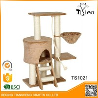 New Style pet products cat tree house designs