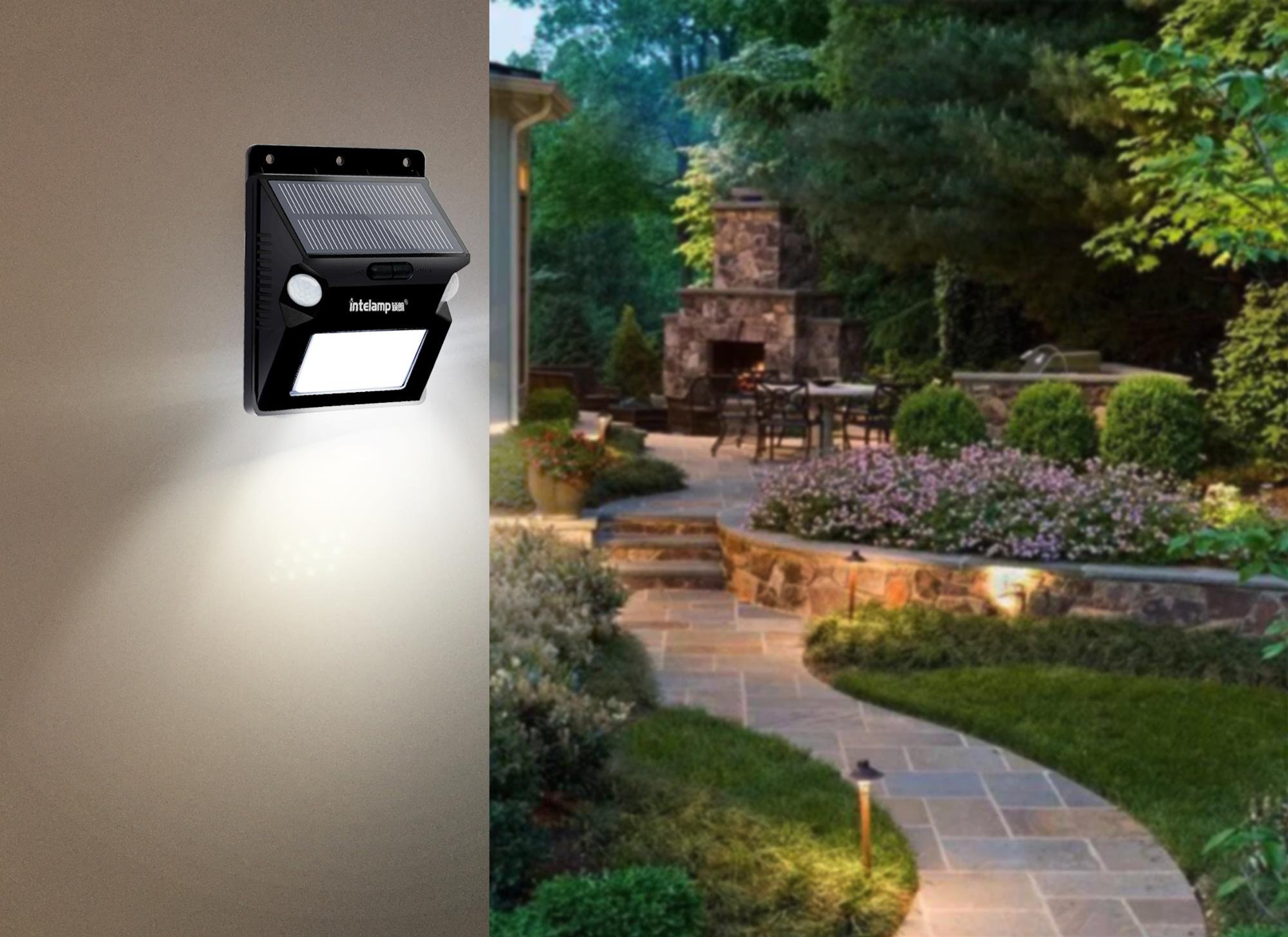 hot sale led solar light Solar Light IP 65 Waterproof Solar Garden Light