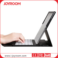 JOYROOM new arrival leather case bluetooth keyboard for ipad pro