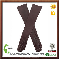 ladies leather long opera gloves