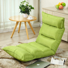 2017 new style adjustable colorful folding yoga floor chair Legless Chair floor sofa bs-167