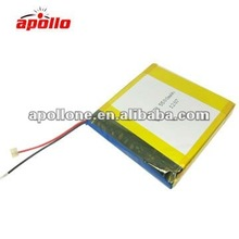 3.7v 5500mah polymer for tablet PC/GPS/RC toys