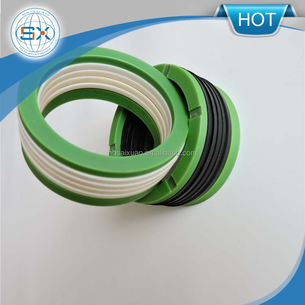 PTE+nylon V packing oil seal rings for natural rubber importers