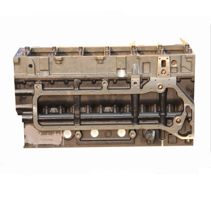 Bulldozer diesel engine cylinder block