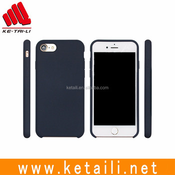 Good quality cute style OEM silicone plastic post forming mobile phone cellphone case cover for iPhone 5 5s 6 6s 7 Plus