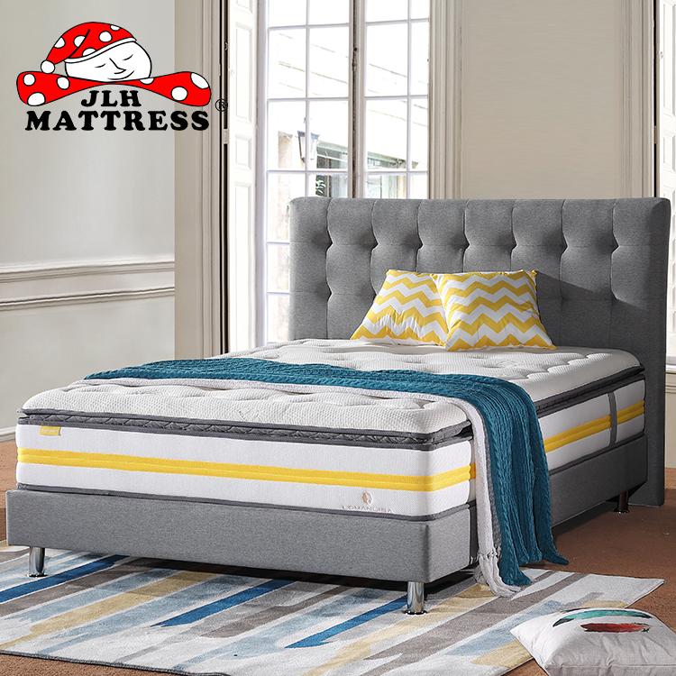 Breathable Pillow Top Foam Mattress with Organic Cotton All Size - Jozy Mattress | Jozy.net