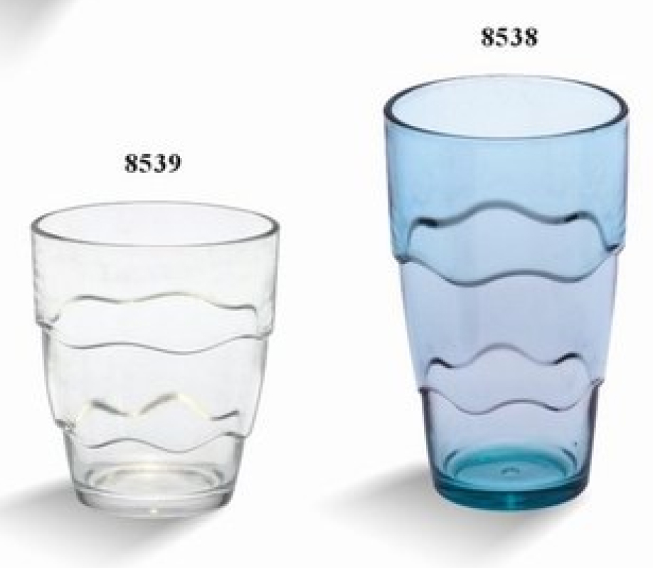 High quality plastic cup beer 500ml in polycarbonate