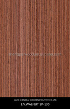 sliced cut black burl walnut recon wood veneer/rotary cut veneer for furniture skins with top trusty quality commercial veneer