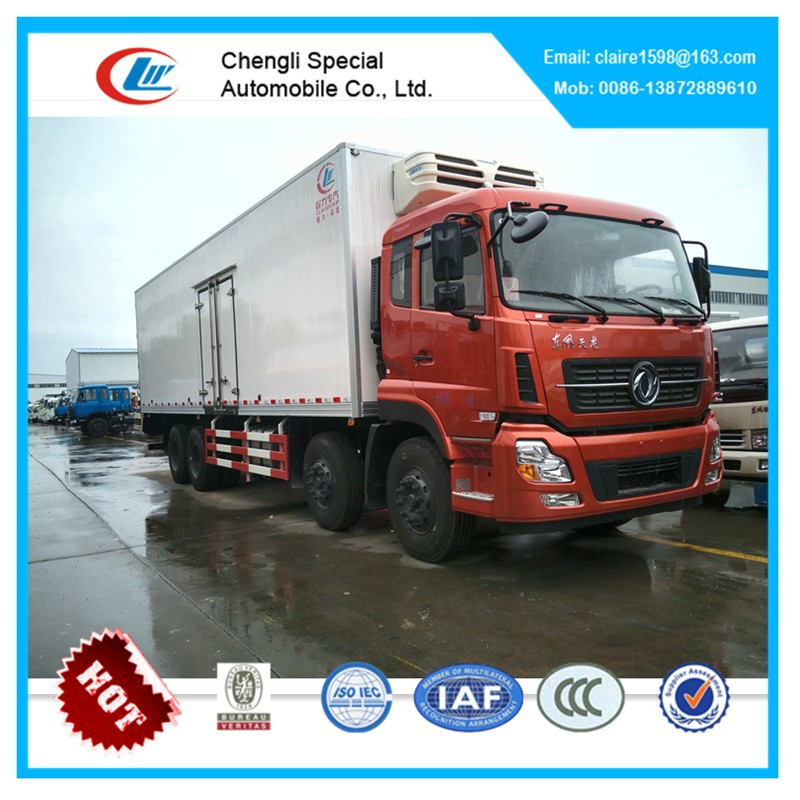 DongFeng refrigerated cargo delivery mobile food vans for sale