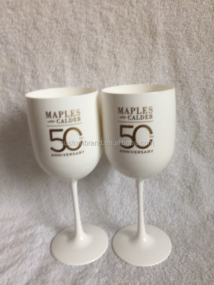 White Wine Glass/plastic wine Goblet/unbreakable Wine Glass