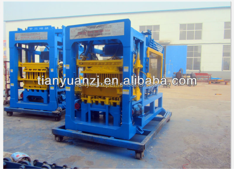 Tianyuan factory manual cement hollow block making machines automatic Durable