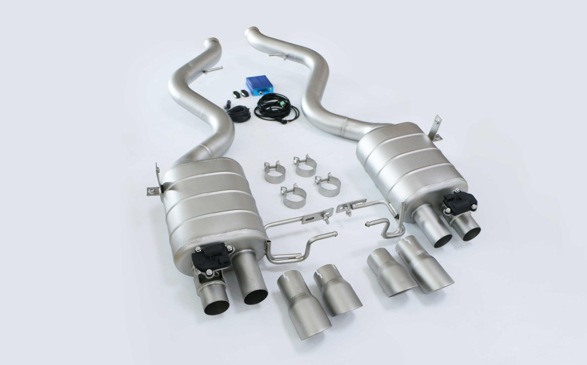 China auto performance performance exhaust systems for BMW E92 M3