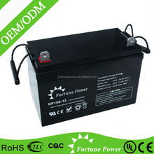 12V 100AH gel batteries dry batteries for ups exide battery