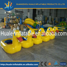 new design popular floating inflatable water duck for kids for pool