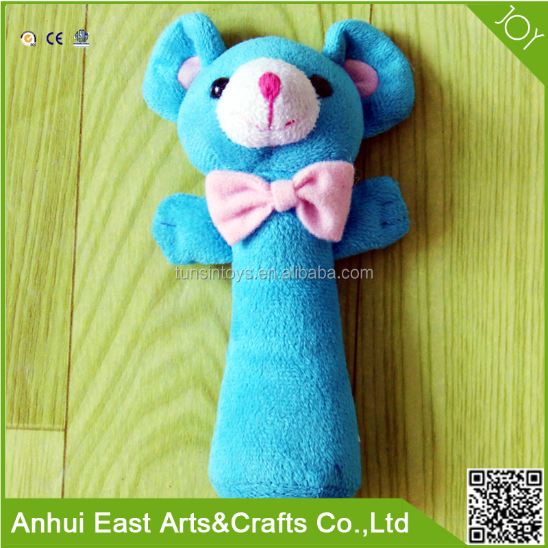 WHOLESALE PLUSH STUFFED ANIMAL SHAPE TOY CAN MAKE A SOUND FOR BABAY TOY