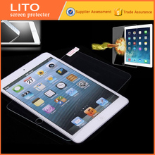waterproof no color screen protector tempered glass sheet for ipad2 3 4