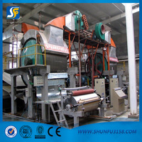 Capacity 1 ton per day tissue paper making plant for sale