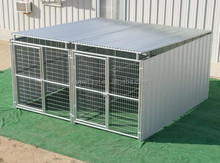 Multiple Dog Kennels with Shed Roof Shelters