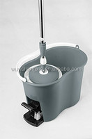 2013 newest design and hottest sale rotating mop,spin mop with water outlet design