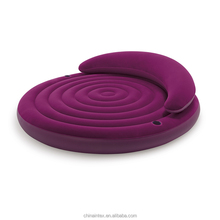 intex 68881 round shape inflatable air sofa bed