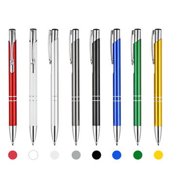 2018 The Best Deals Promotional Click Metal Pen With Logo