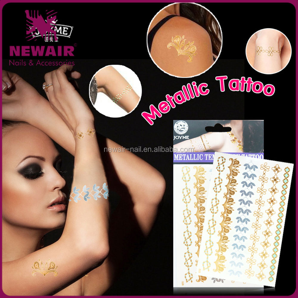 Newest design water transfer private label temporary tattoo sticker for <strong>beauty</strong>