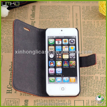 flip leather case for iphone5s ,case for iphone 5 flip case