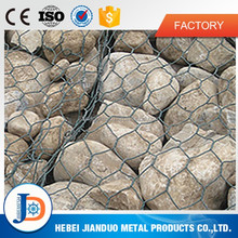 China supplier galvanized gabion box wire mesh