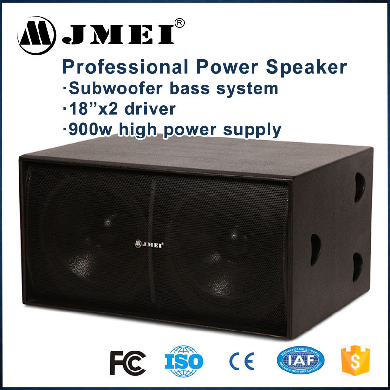 Professional Dj Equipment PA Audio High Power Passive Bass 18 inch Subwoofer Amplifier Speaker