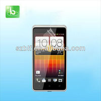oem/odm manufacturer for HTC Desire L screen protector 4.3 inch accept paypal