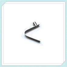 sheet metal Stainless steel spring clip double button V- clips