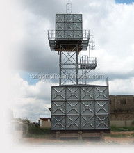 Hot pressed 1.22M*1.22M partition wall galvanized water tank