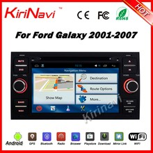 Kirinavi WC-FU7016 android 5.1 car audio player for ford galaxy 2001-2007 car gps navigation with touch screen radio