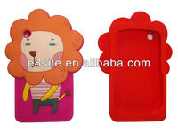Cellular Phone Animal Silicon Cases For BlackBerry Curve 8520/9300