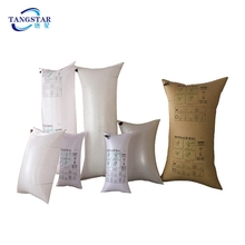 china kraft paper laminated dunnage bag PP woven air inflatable bags for shipping safe