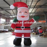Hot sale good quality Inflatable Santa Clause