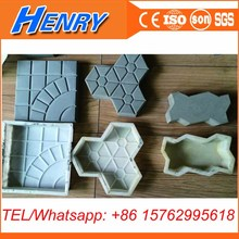 concrete paver plastic injection mold decorative road pavement bricks mould