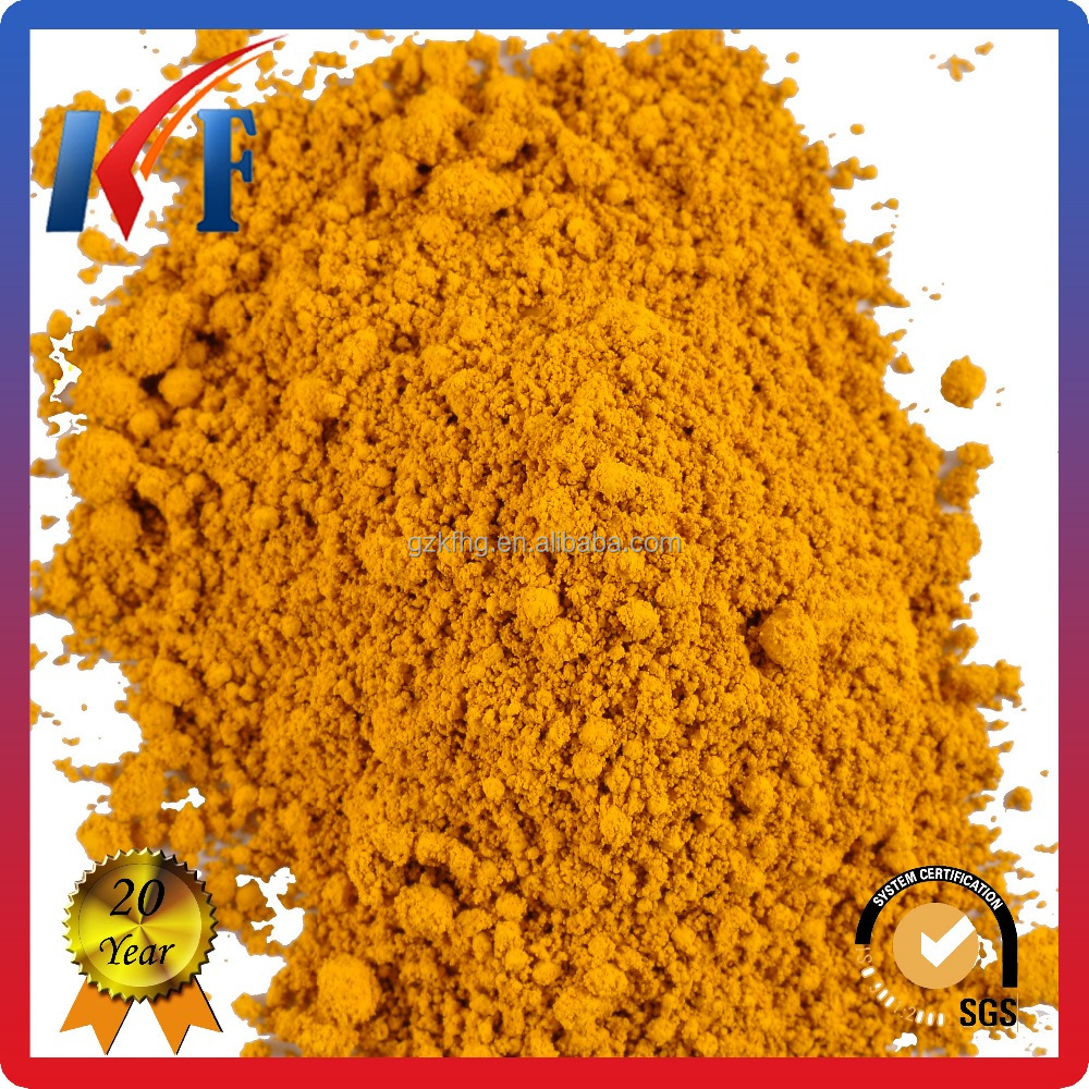 Masterbatch Color Iron Oxide Yellow Pigment With High Quality