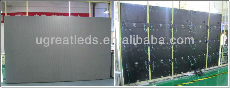 Outdoor High Brightness Full Color Electronic Rental Advertising LED Display Screen