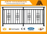 ISO certificated Direct factory of decorative balcony steel grill designs YT010